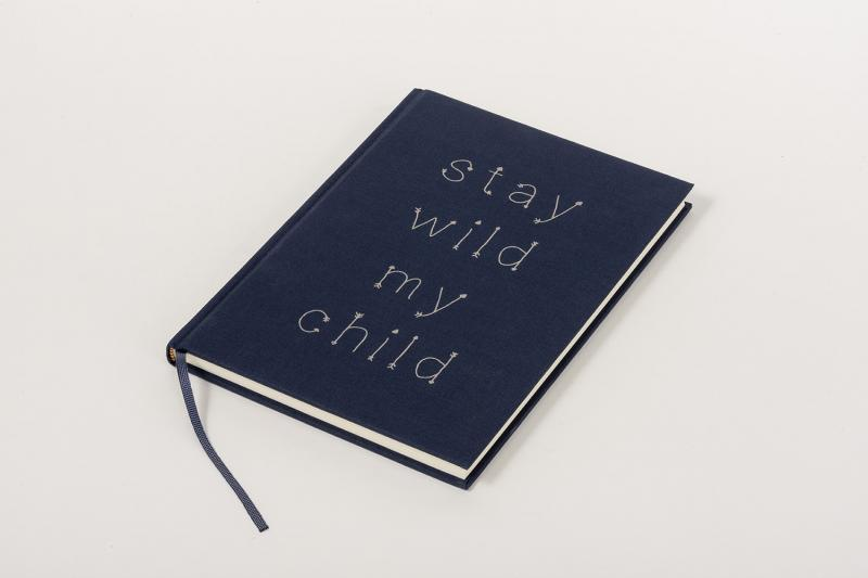 customized linen book for special occasion