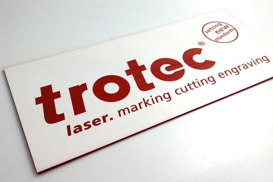 Trotec Engraveable Laminates